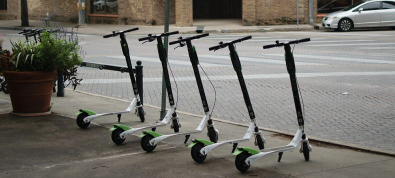 DOCKLESS SCOOTERS RISING