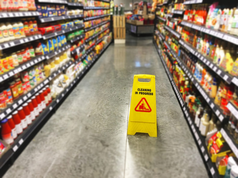What Should You Do if You Slip at a Grocery Store in South Florida this Fall?